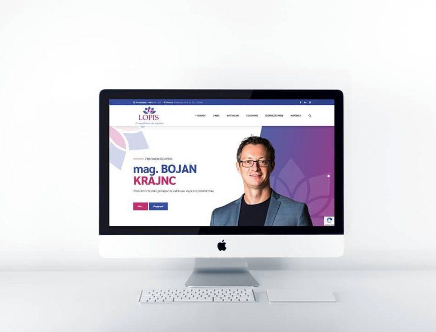 Lopis spletna stran