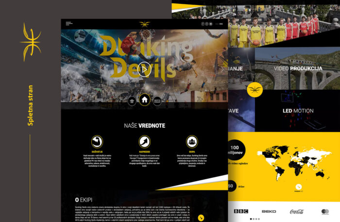 armdesign projekti dunking devils
